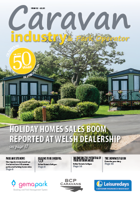 Caravan Industry & Park Operator Issue 32 front cover