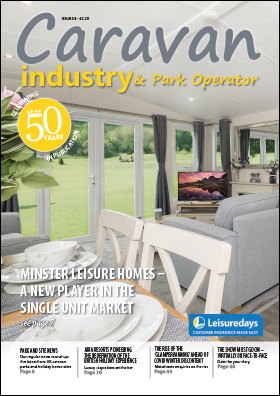 Caravan Industry and Park Operator issue 33 front cover