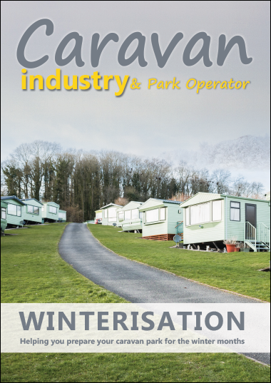 Caravan winterisation front cover