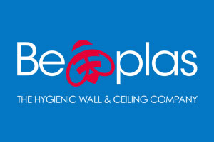 Be-Plas Logo - Need a hygienic solution that is quick to install, easy to clean and is cost effective?