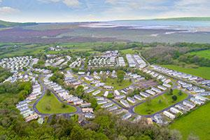 Llanrhidian Holiday Park in North Devon