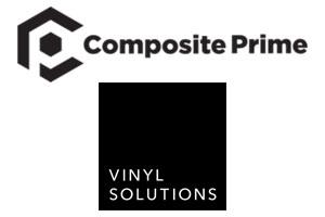 Vinyl Solutions partnership with Composite Prime logos