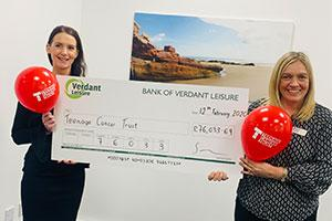 Verdant Leisure has raised thousands for charity