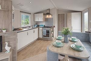 Willerby - interior of the Skye model