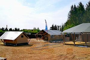 Glamping showroom