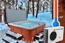 Climacube Polar - energy efficient spa water heating